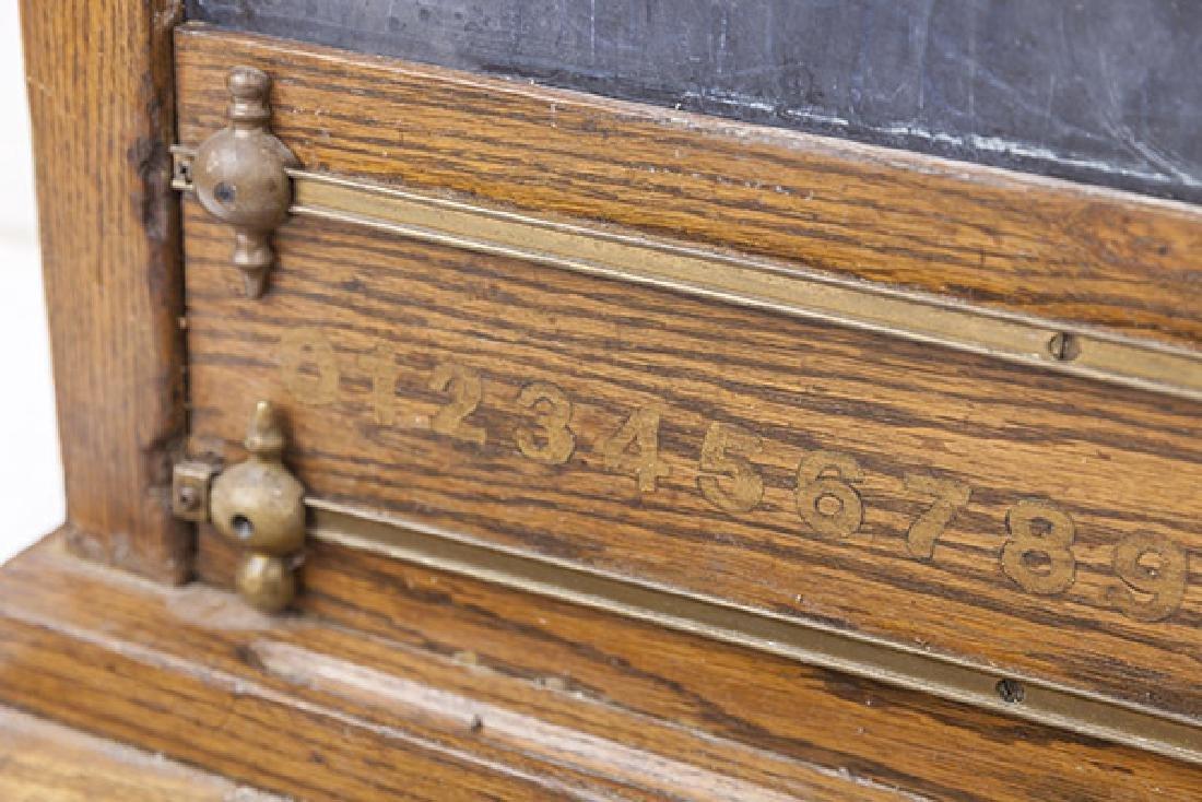 Oak Frame Chalk Board - 3
