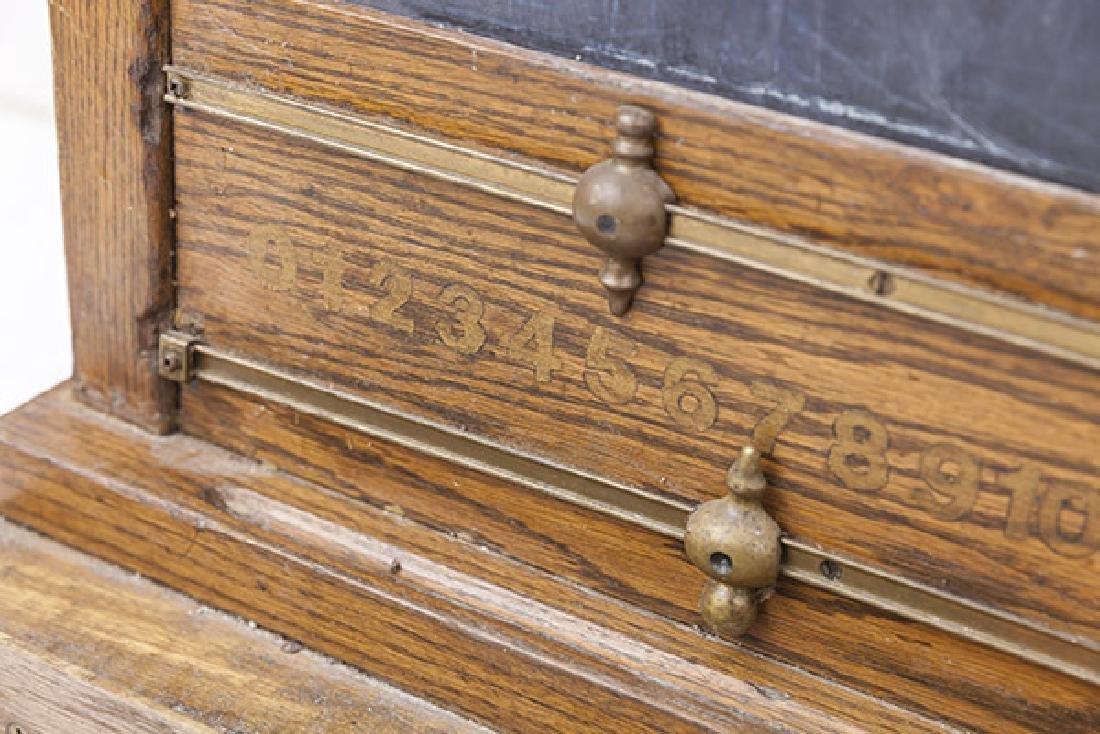 Oak Frame Chalk Board - 4