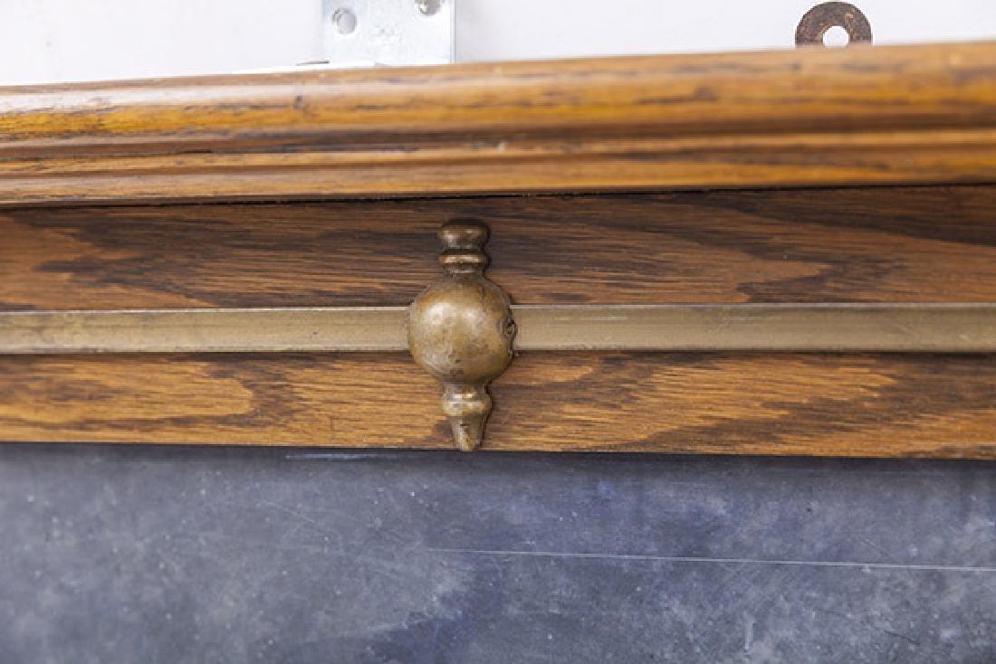 Oak Frame Chalk Board - 5