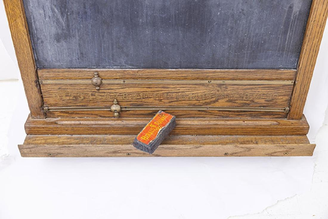 Oak Frame Chalk Board - 7