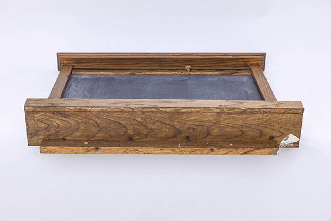 Oak Frame Chalk Board - 9
