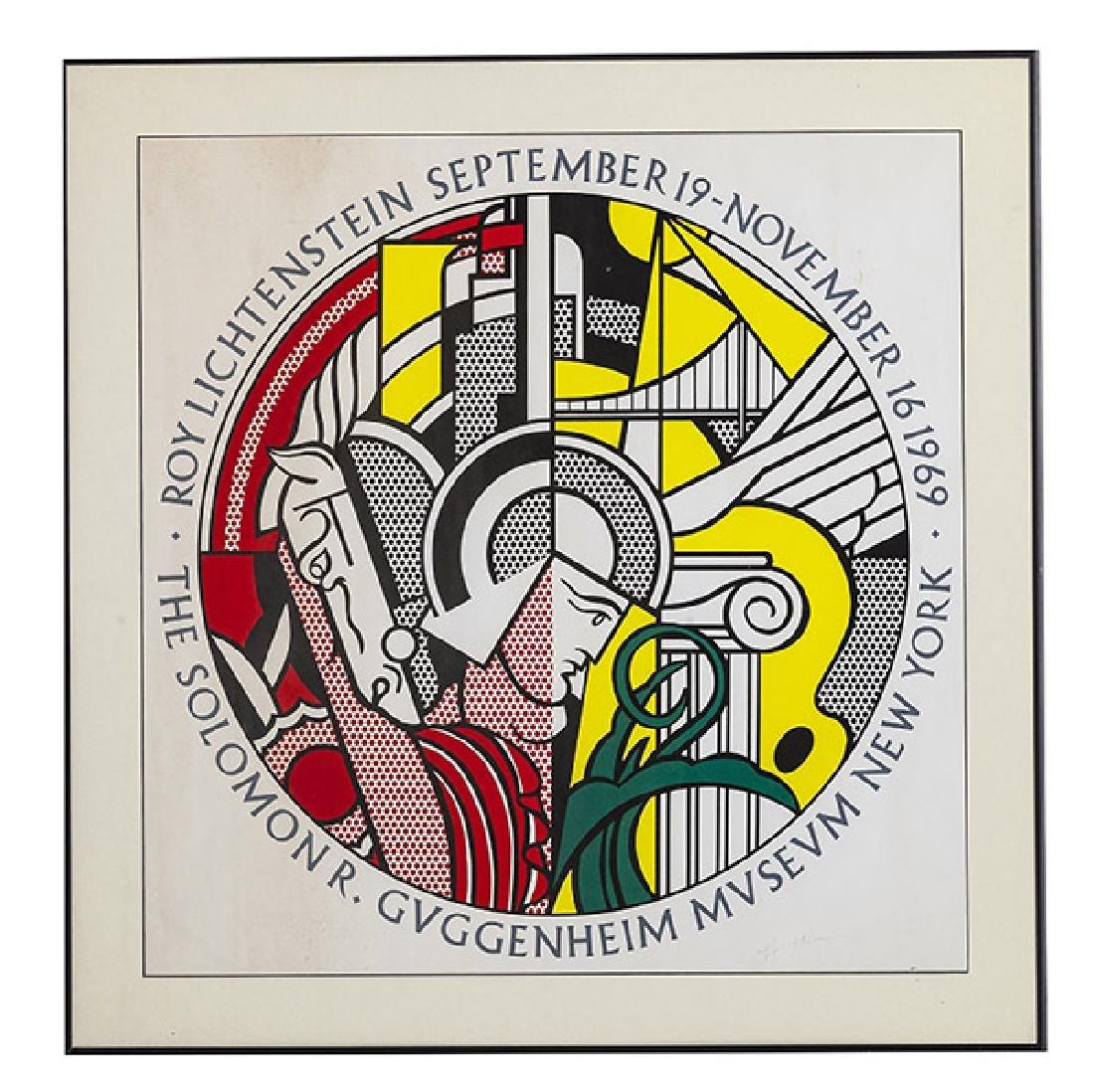 Roy Lichtenstein Poster