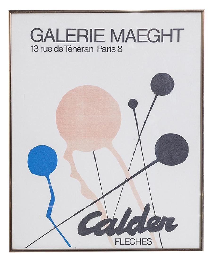 Alexander Calder Exhibition Poster