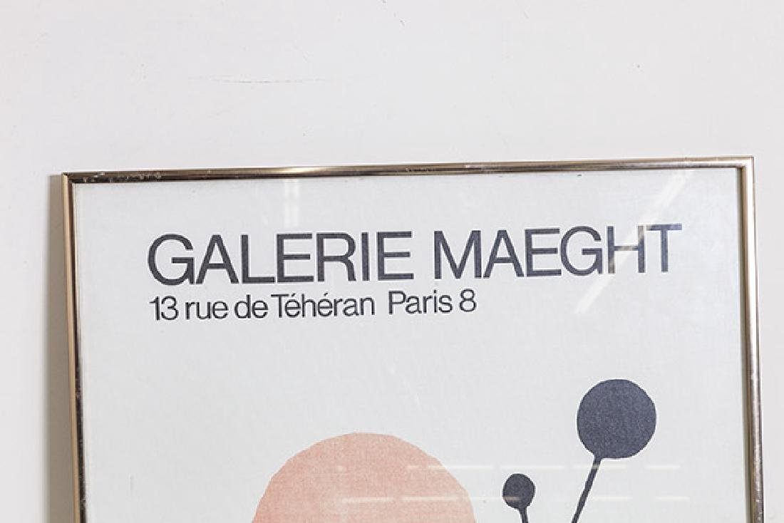 Alexander Calder Exhibition Poster - 2