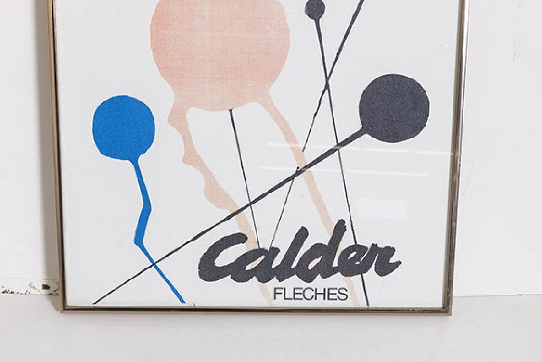 Alexander Calder Exhibition Poster - 3