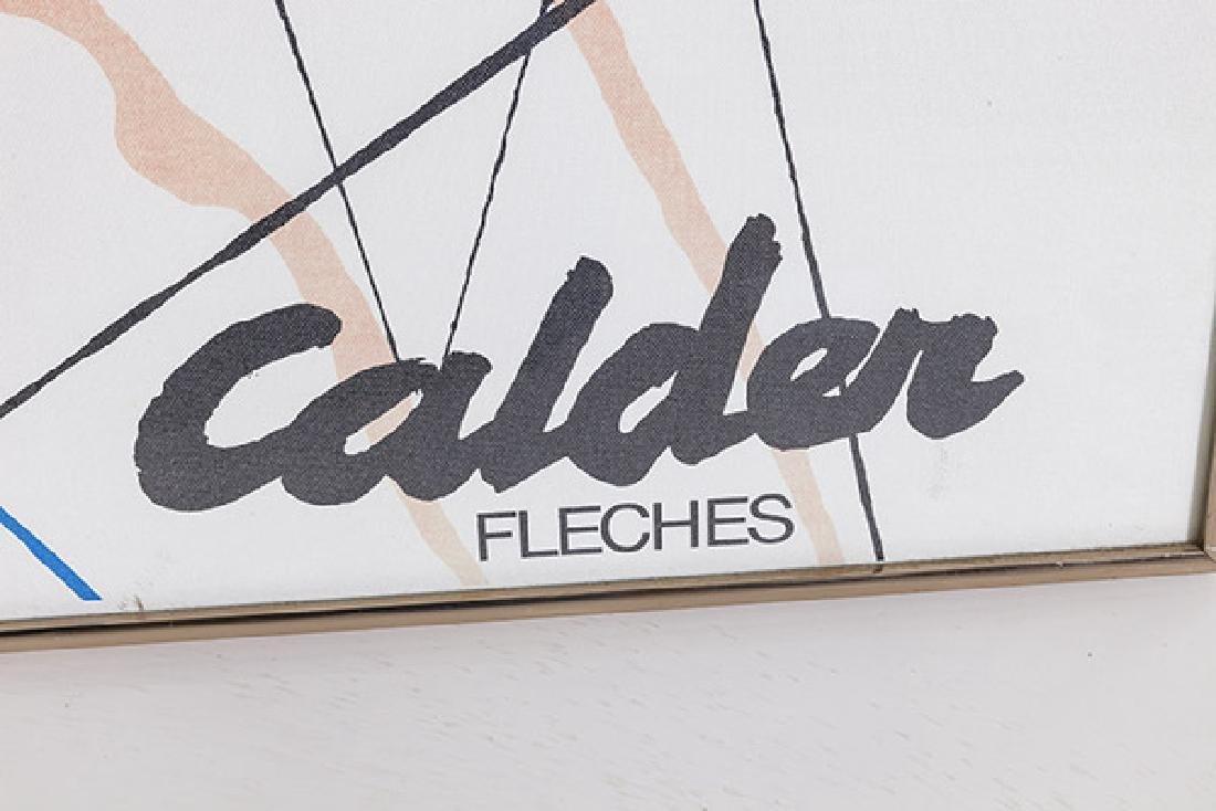 Alexander Calder Exhibition Poster - 4