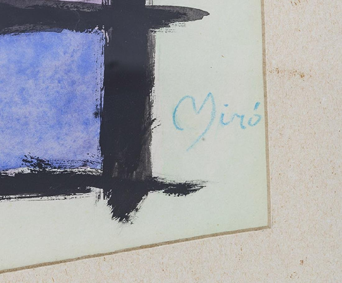 Joan Miro Watercolor - 2