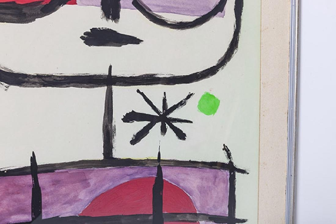 Joan Miro Watercolor - 3