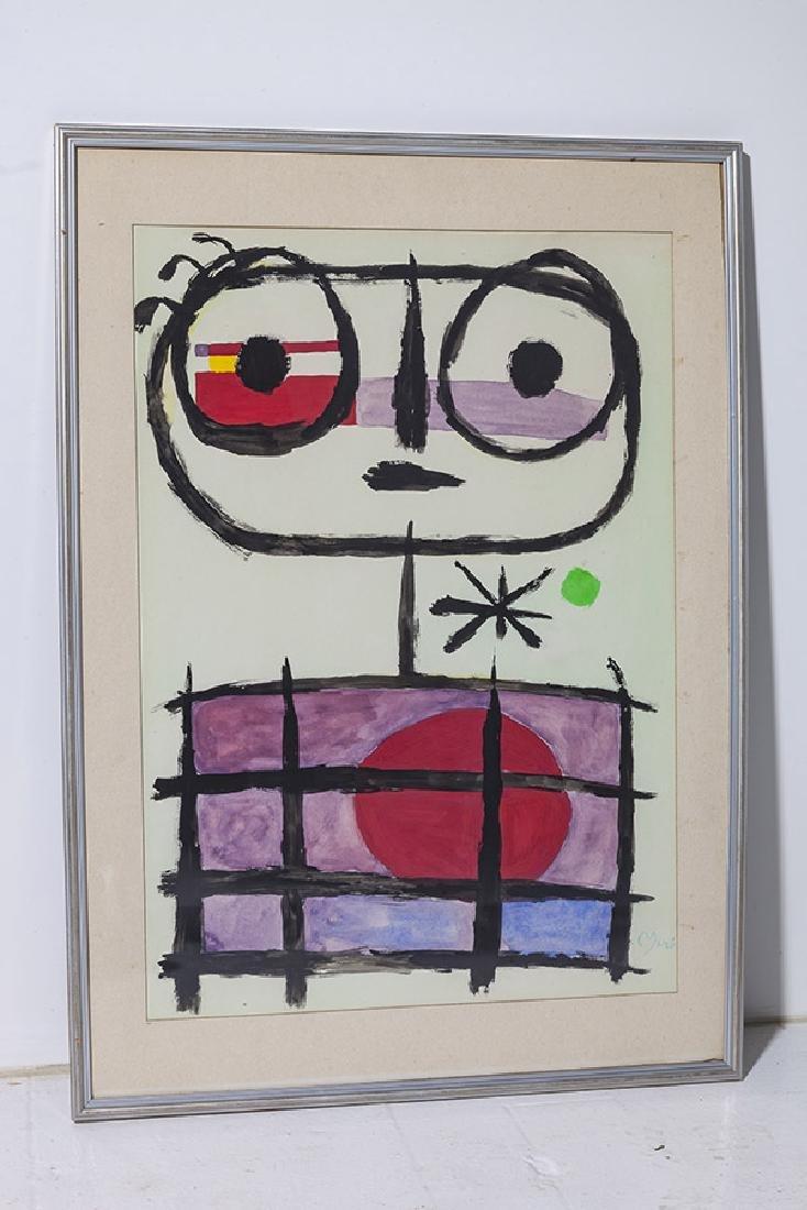 Joan Miro Watercolor - 6