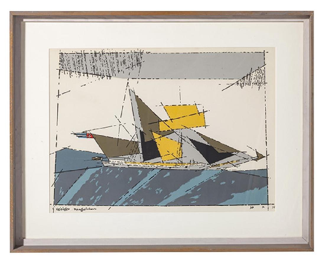 Lyonel Feininger (1871-1956) Lithograph