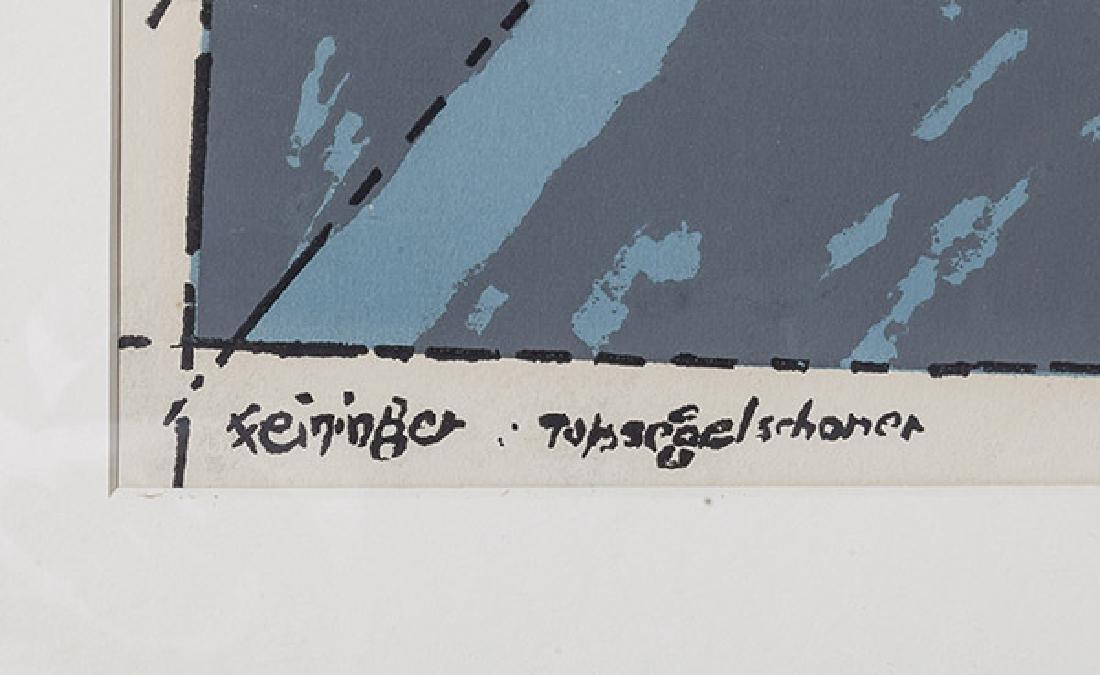 Lyonel Feininger (1871-1956) Lithograph - 6