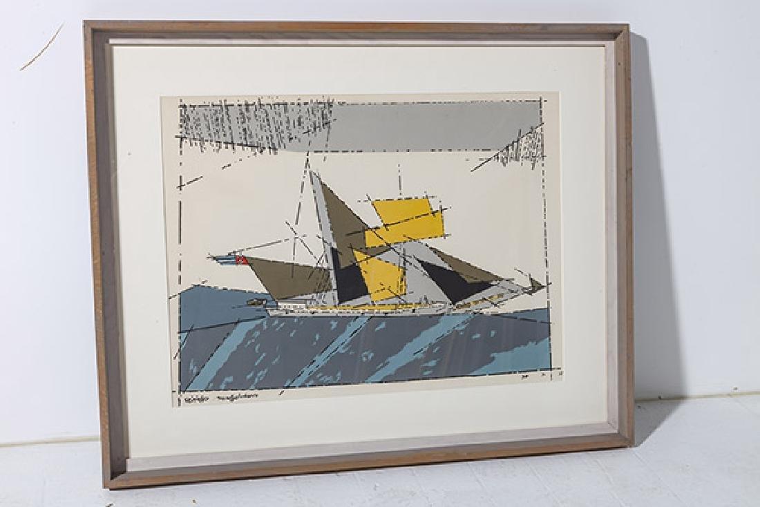 Lyonel Feininger (1871-1956) Lithograph - 7