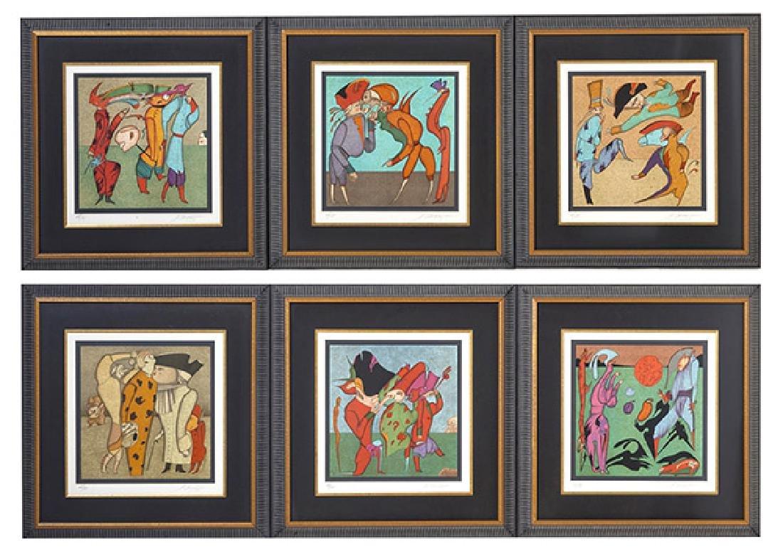 Mihail Chemiakin lithographs