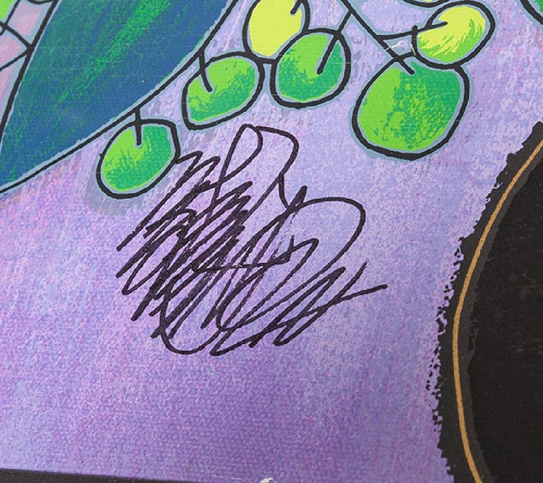 Jiang Tiefeng Hand Embellished Serigraph (China B - 2