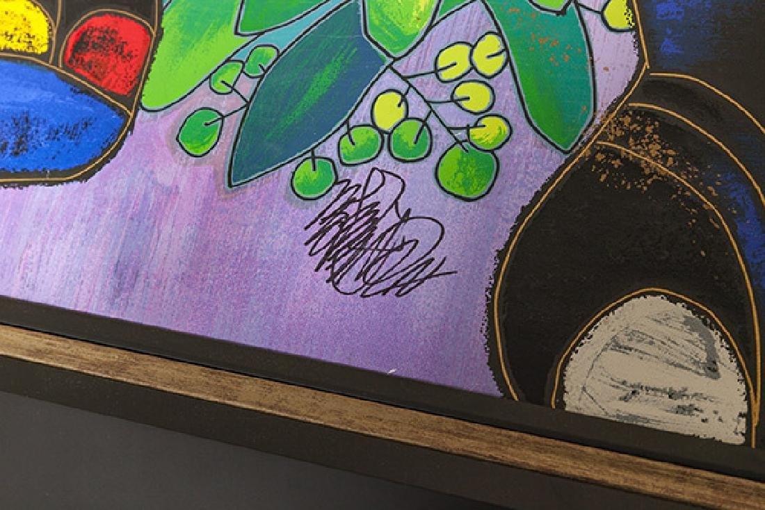 Jiang Tiefeng Hand Embellished Serigraph (China B - 3