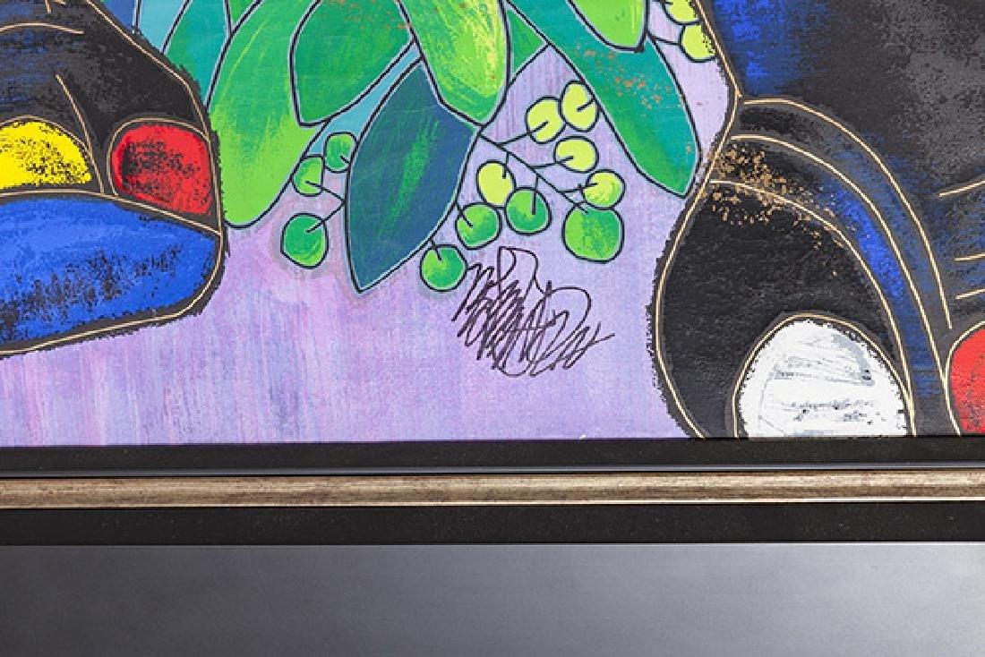 Jiang Tiefeng Hand Embellished Serigraph (China B - 7