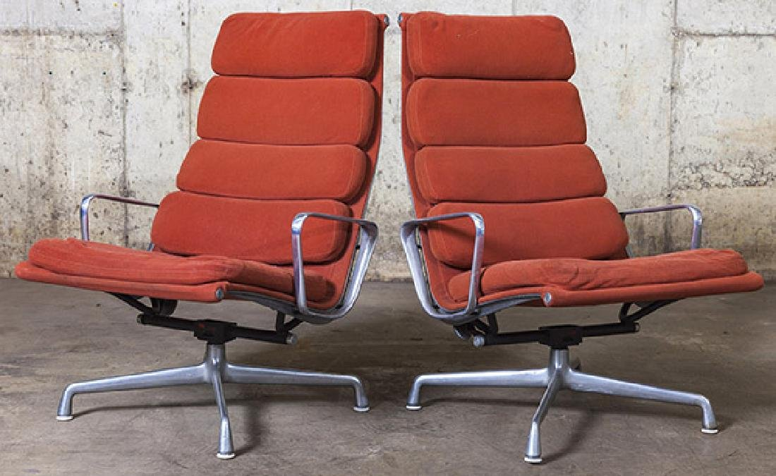 Charles and Ray Eames Soft Pad Chairs