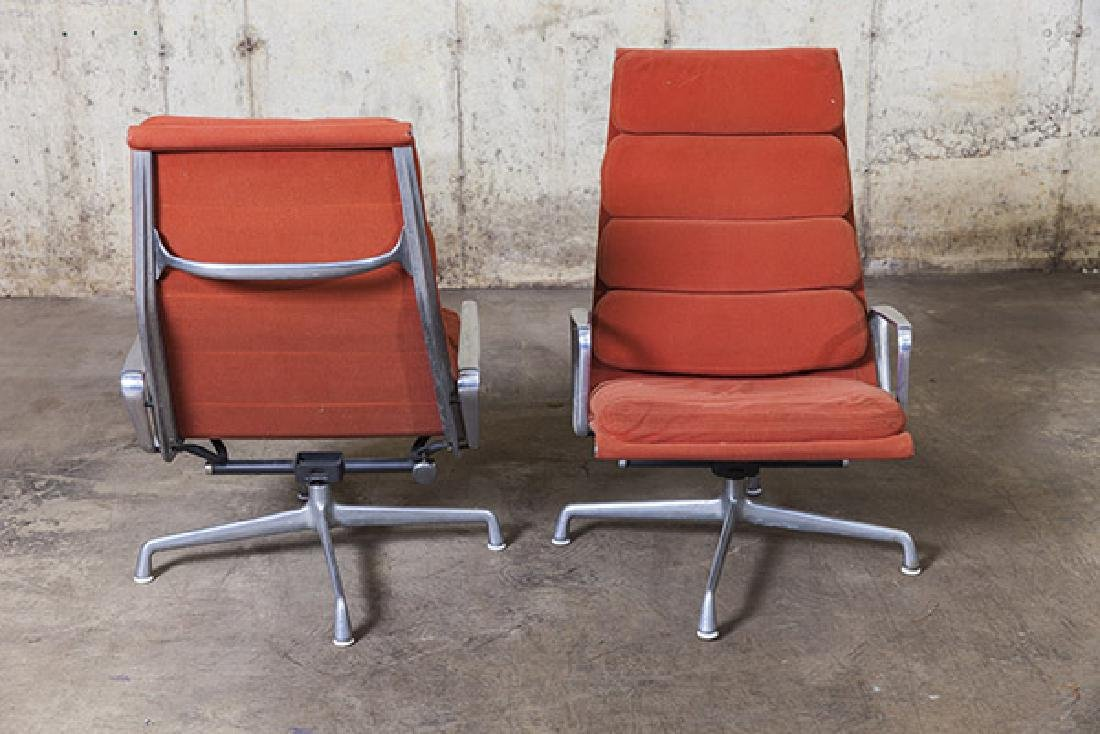 Charles and Ray Eames Soft Pad Chairs - 3