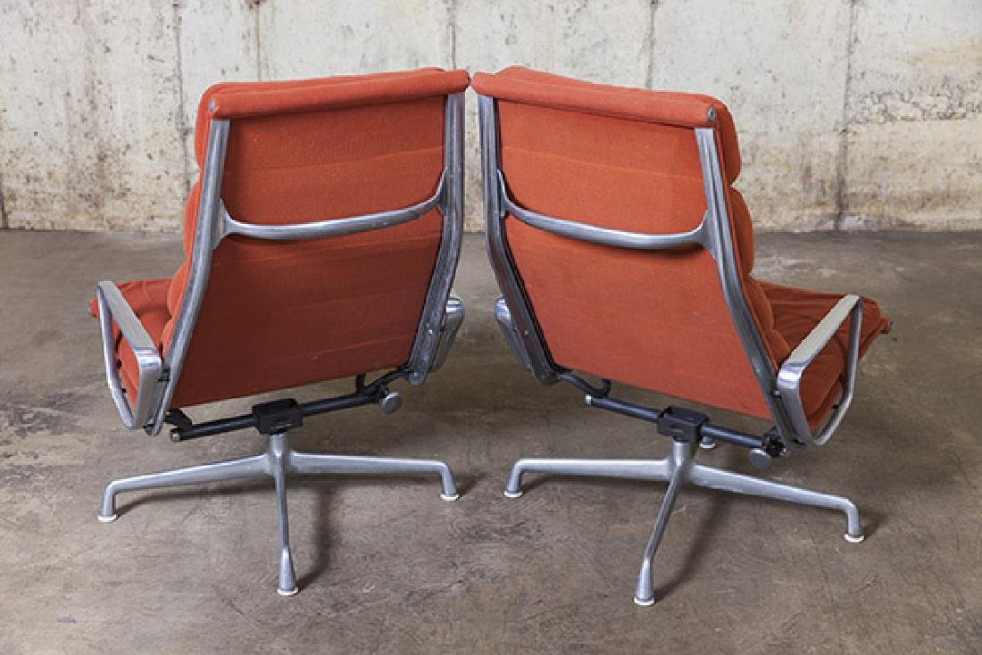Charles and Ray Eames Soft Pad Chairs - 4