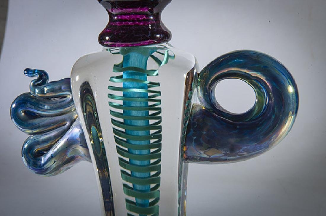 "Richard ""Rick"" Eckerd Glass Sculpture - 8"