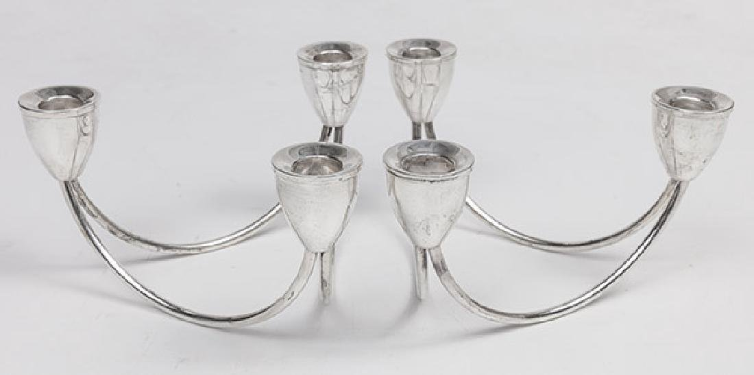 Sterling Mid Century Candelabras - 2