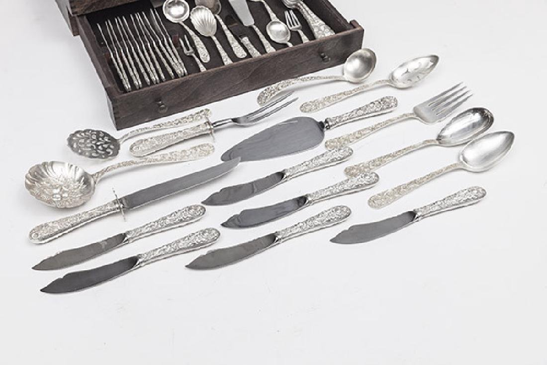 Kirk and Son Sterling Repousse Flatware - 2