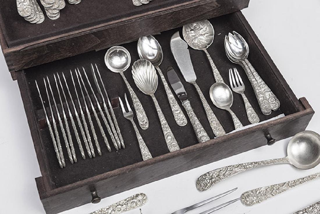 Kirk and Son Sterling Repousse Flatware - 3