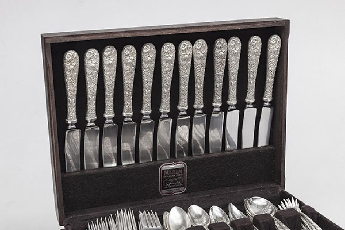 Kirk and Son Sterling Repousse Flatware - 4