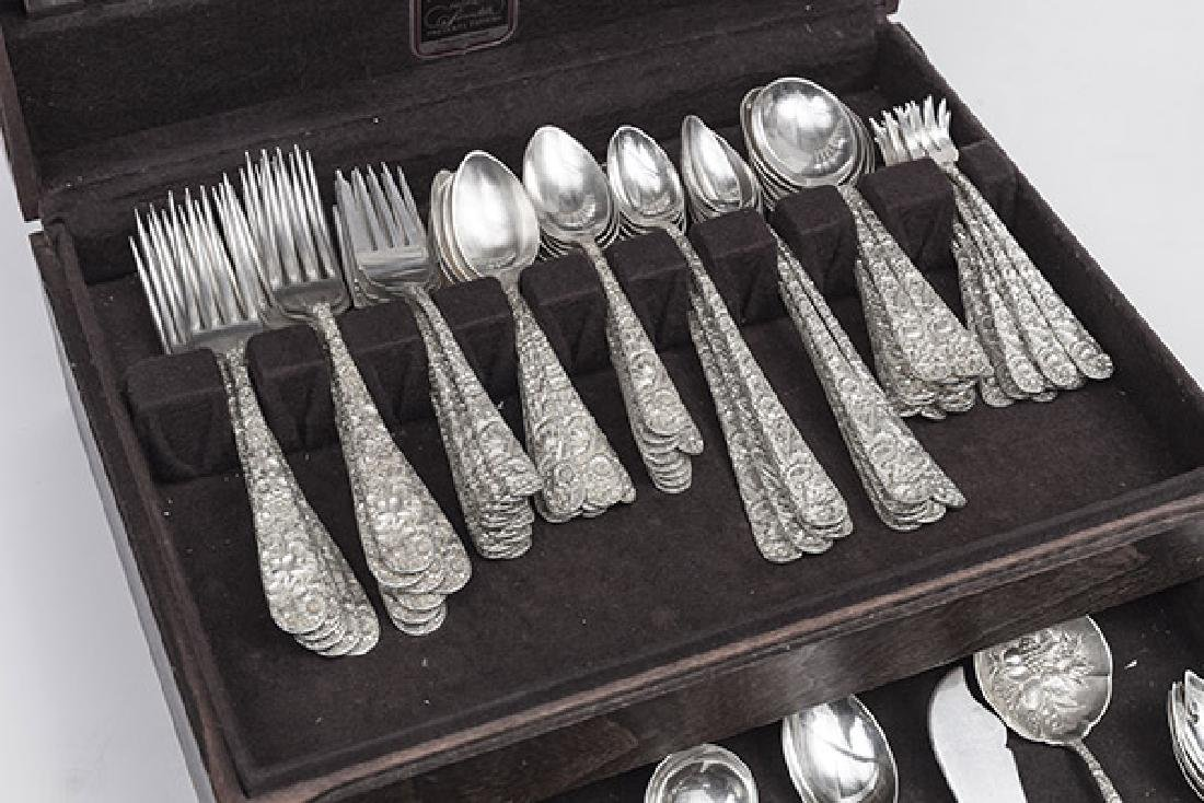 Kirk and Son Sterling Repousse Flatware - 5