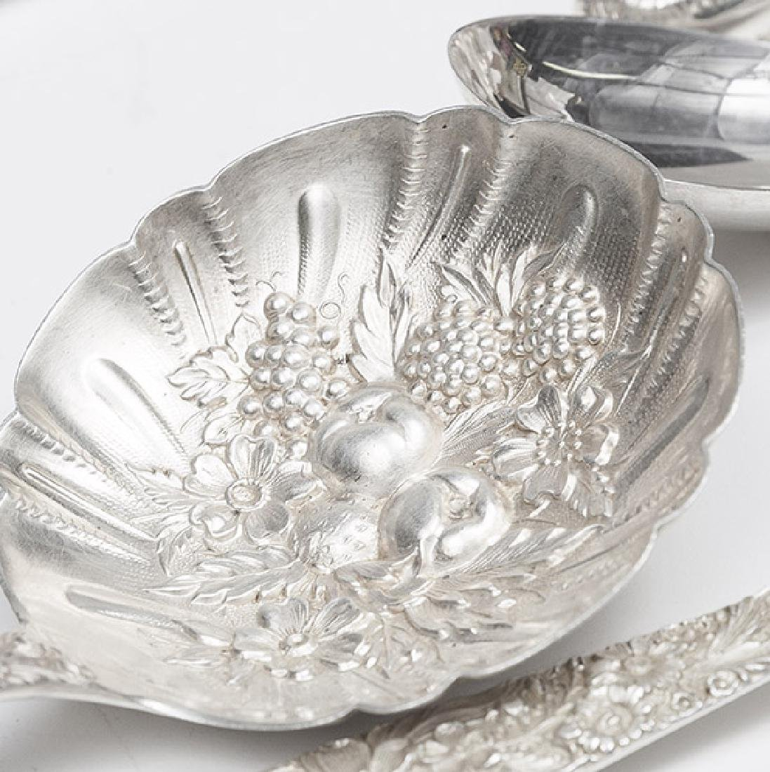 Kirk and Son Sterling Repousse Flatware - 9