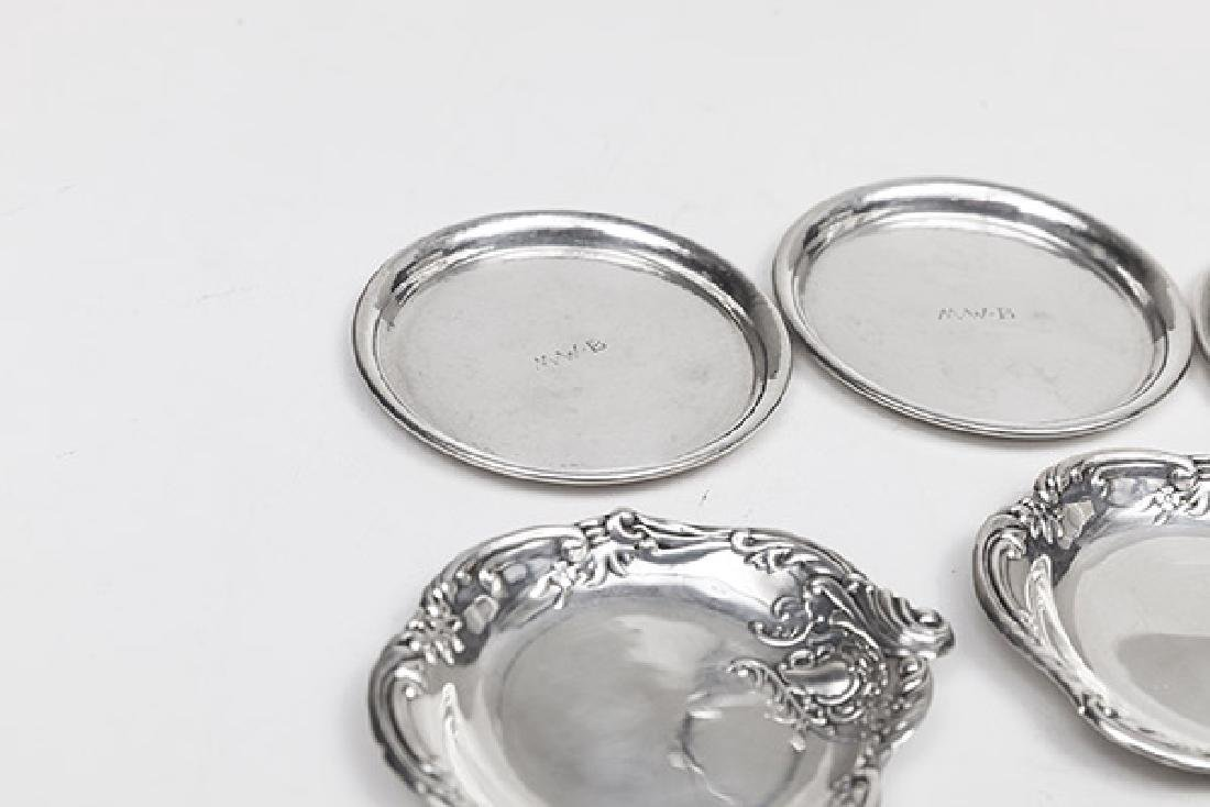 Assembled Sterling Coasters - 7