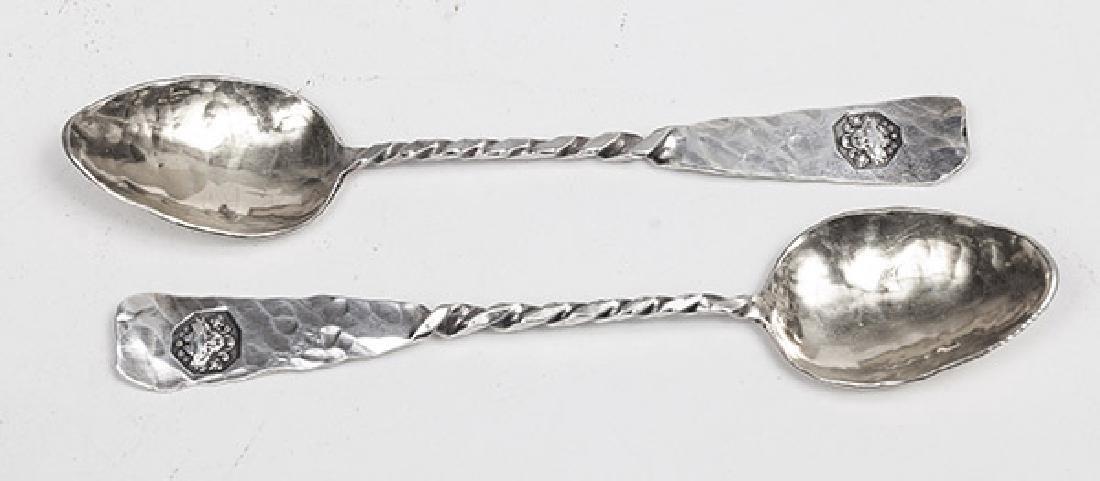 Twelve Sterling Demitasse Spoons - 2