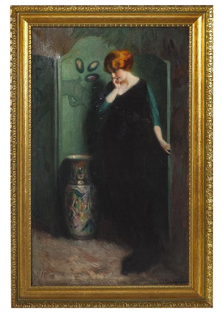 Marial Plaza Ferrand (1876-1948) Chile, Oil