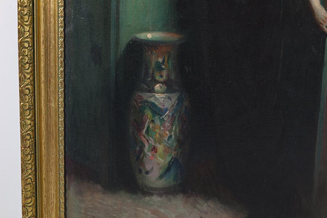 Marial Plaza Ferrand (1876-1948) Chile, Oil - 4