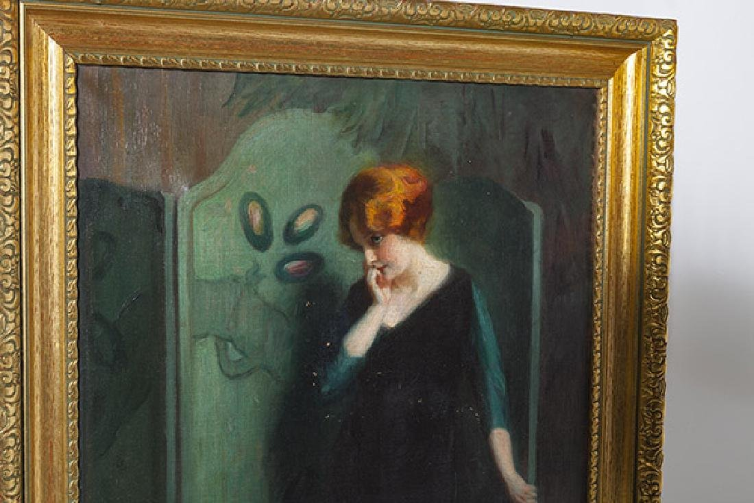 Marial Plaza Ferrand (1876-1948) Chile, Oil - 6