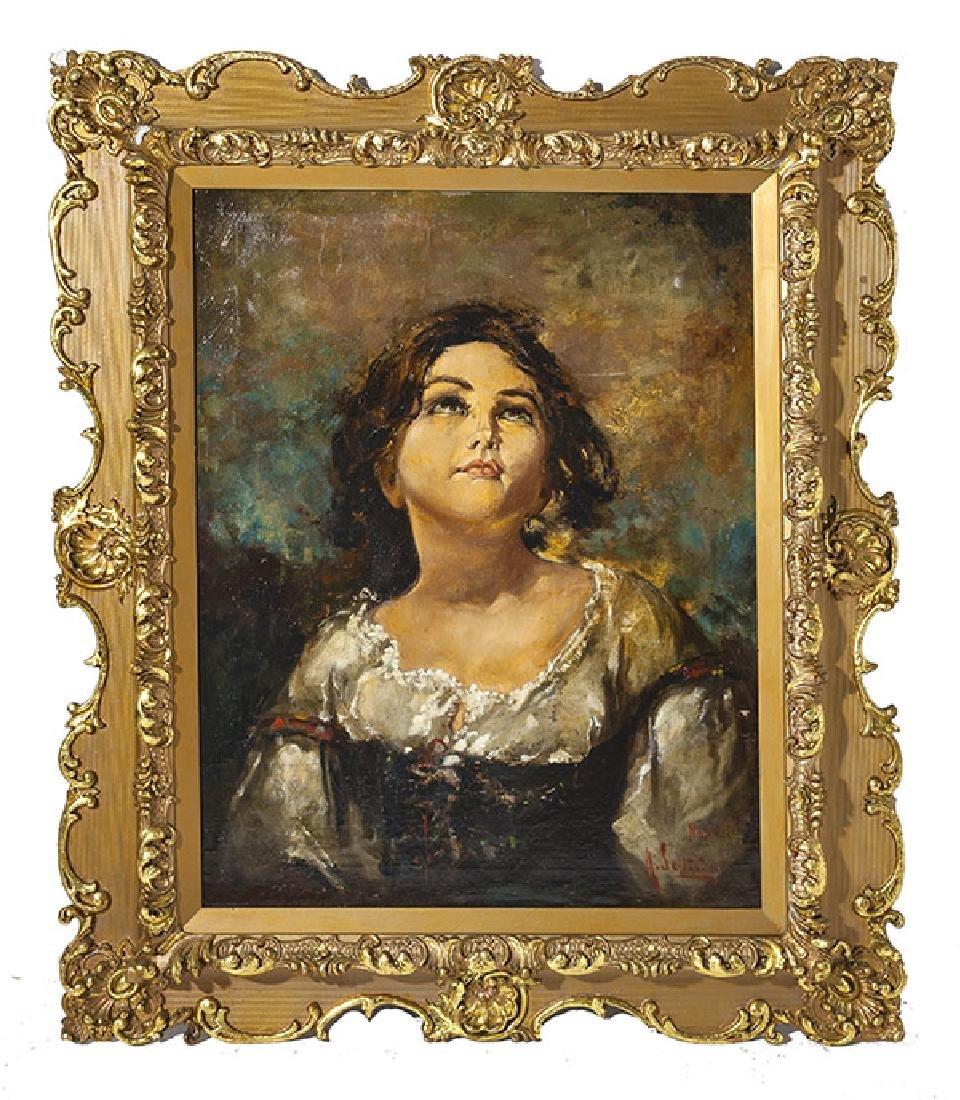 Oil, portrait