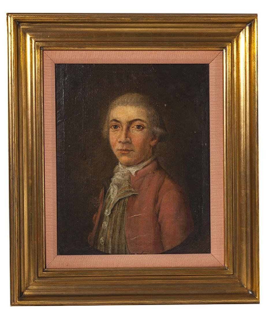 19th Century Portrait Painting Oil