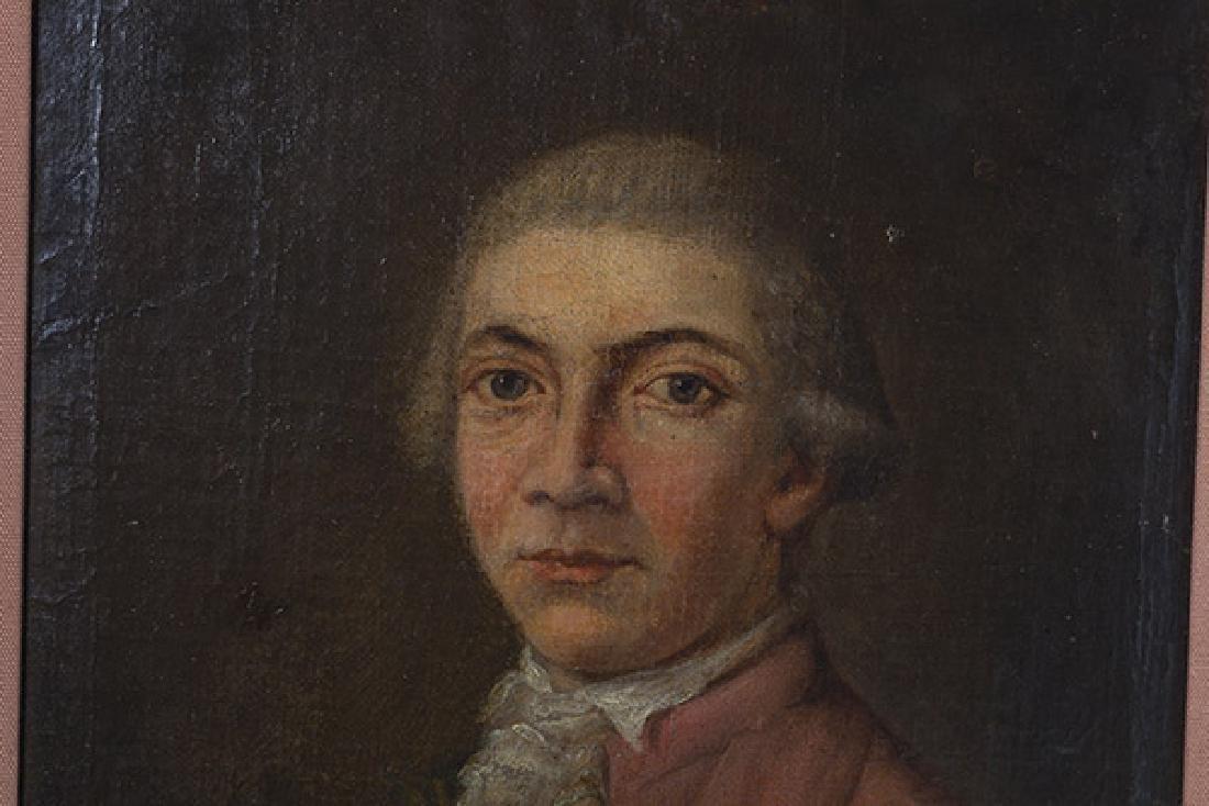 19th Century Portrait Painting Oil - 2