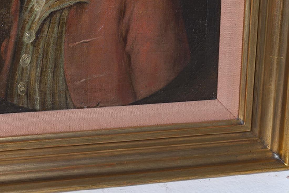 19th Century Portrait Painting Oil - 3