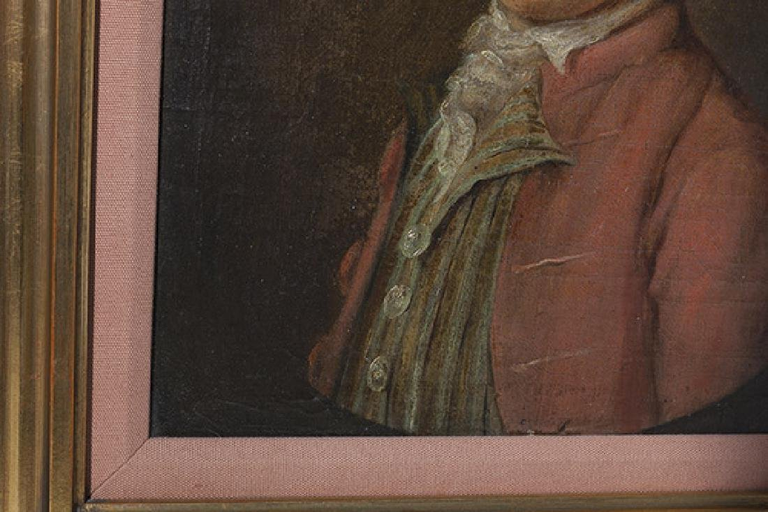 19th Century Portrait Painting Oil - 4