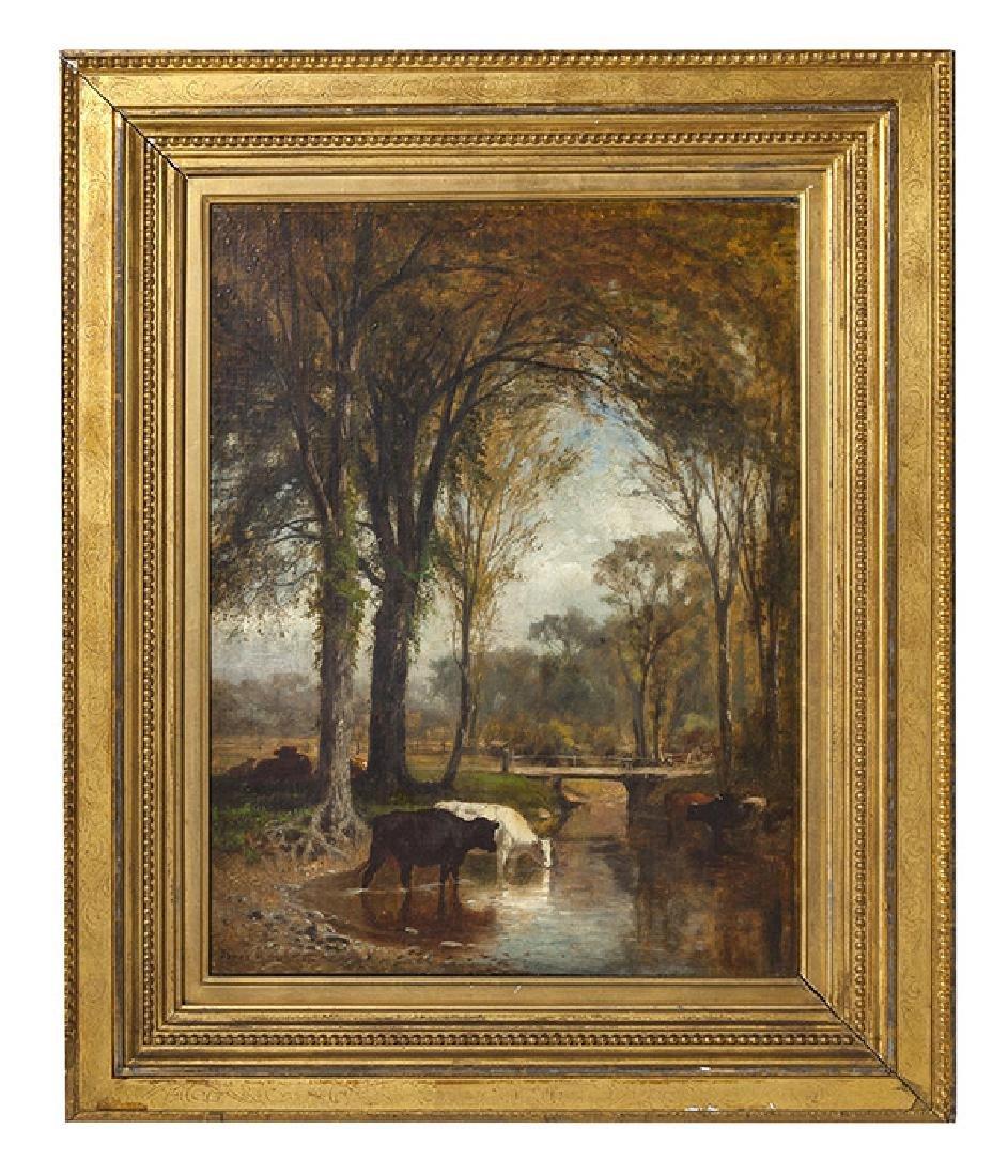 James McDougal Hart (1828 - 1901) Oil