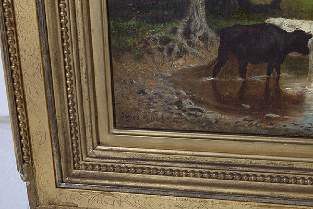 James McDougal Hart (1828 - 1901) Oil - 2