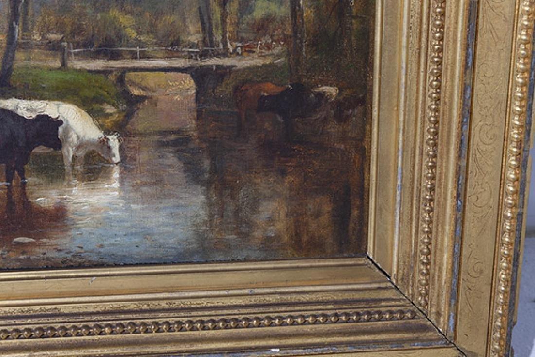 James McDougal Hart (1828 - 1901) Oil - 3