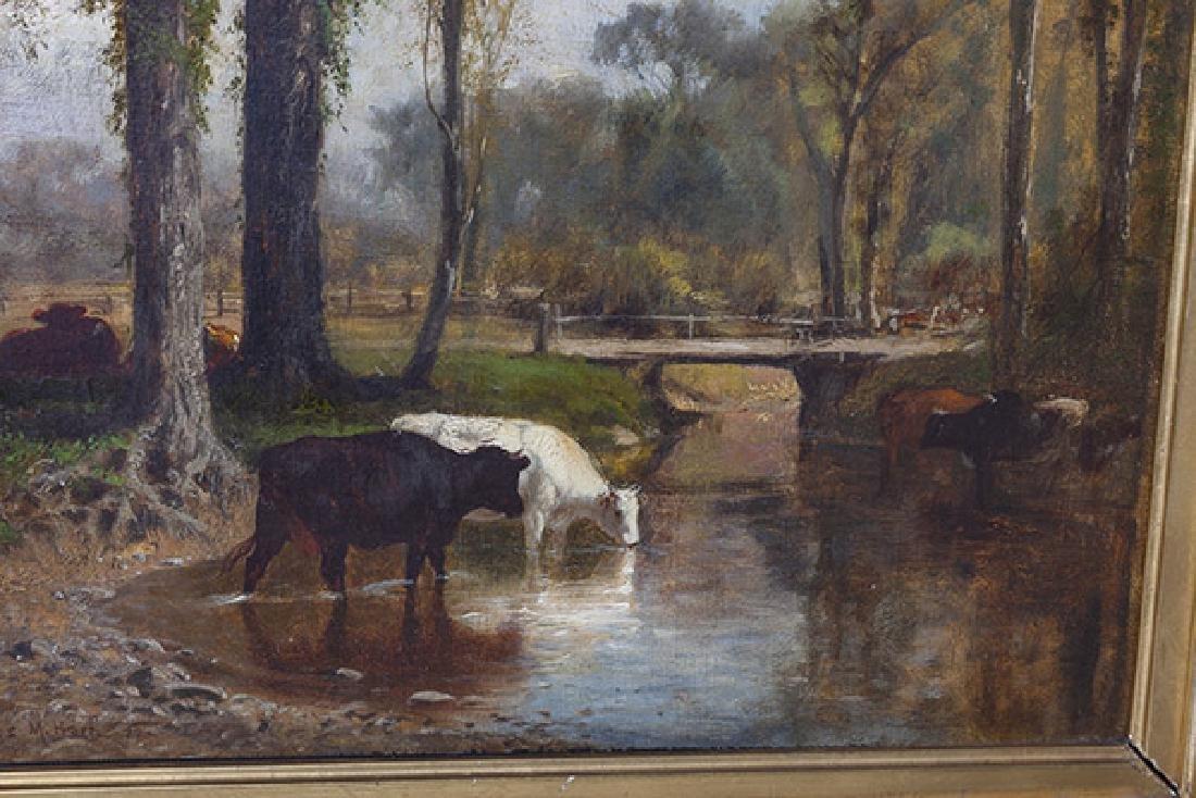 James McDougal Hart (1828 - 1901) Oil - 4