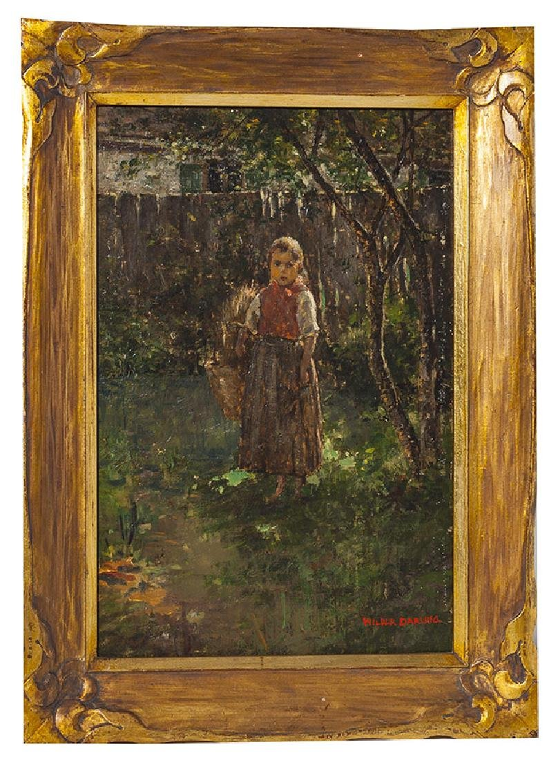Wilder Darling Oil on Canvas
