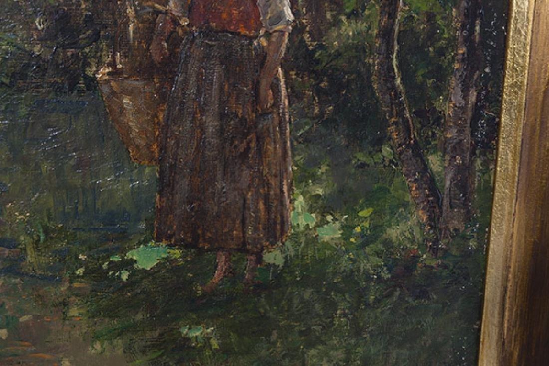 Wilder Darling Oil on Canvas - 4