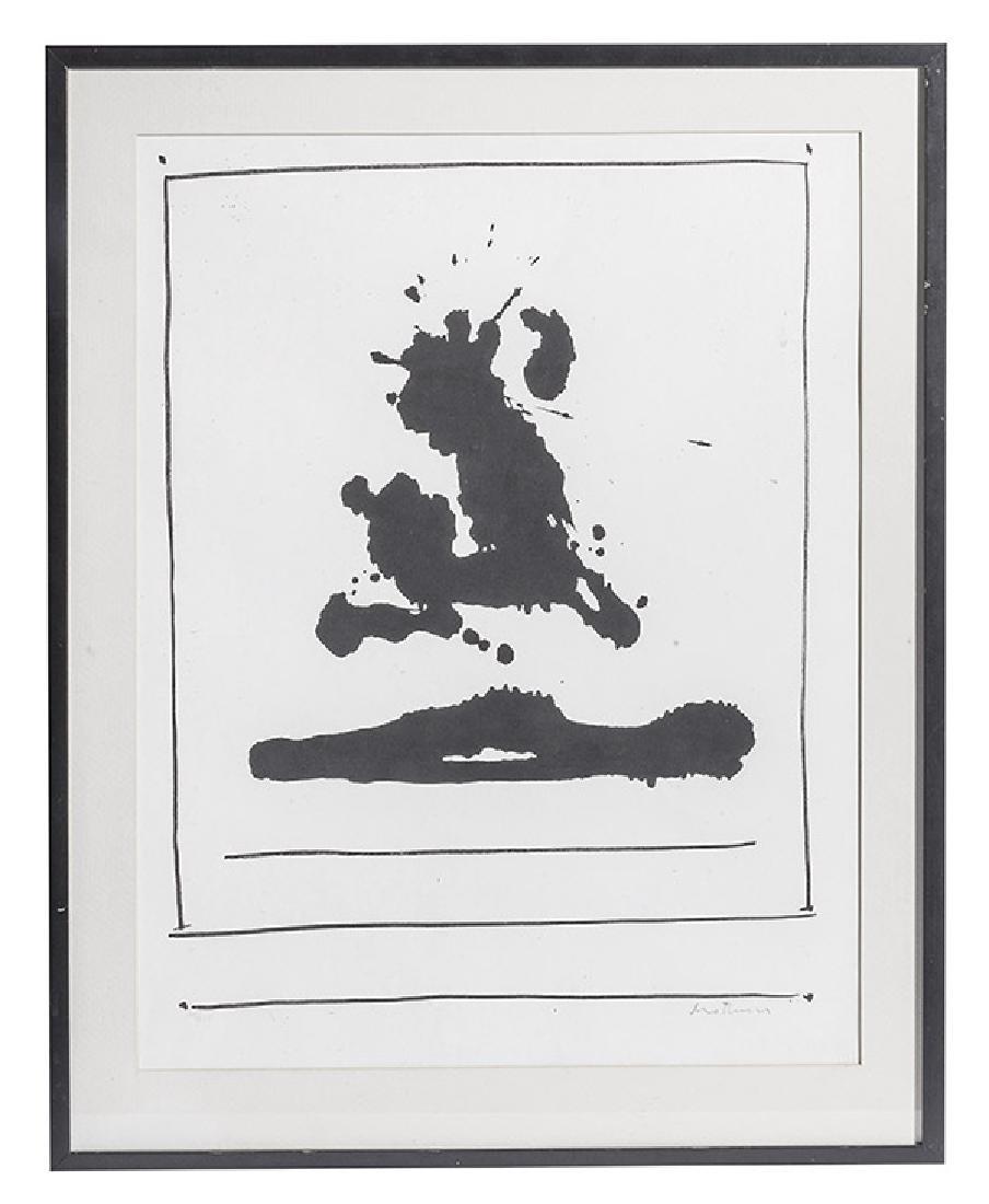 Robert Motherwell, American  (1915-1991) Screen Print