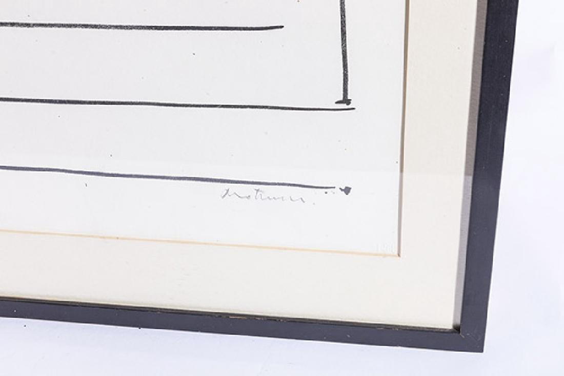 Robert Motherwell, American  (1915-1991) Screen Print - 2