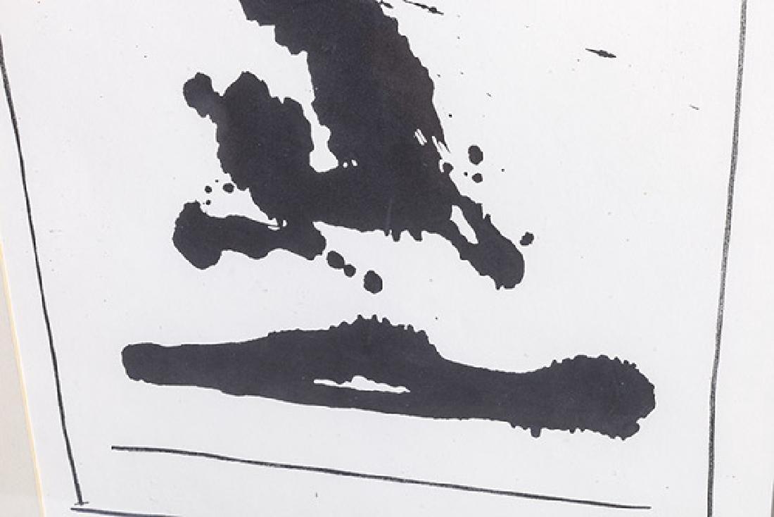Robert Motherwell, American  (1915-1991) Screen Print - 3