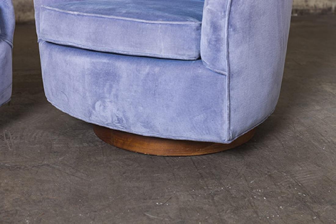 Milo Baughman Swivel Chairs - 2